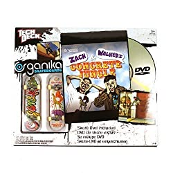 District Tech Deck Skate Shop DVD Pack Organika Zach and Walkers Concrete Jungle