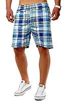 Bermuda Shorts Badeshorts / Badehose kariert ID1276 Sguazzare (Verschiedene Farben)