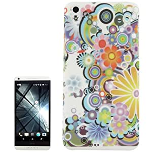 Creative Flower Pattern Plastic Case for HTC Desire 816