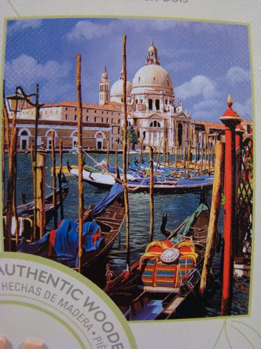 GALLERY SERIES AUTHENTIC WOOD PUZZLE Chiesa Della Salute 1000 Piece Puzzle