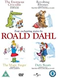 """Four Enchanting Stories By Roald Dahl (""""The Enormous Crocodile"""", """"Revolting Rhymes"""", """"The Magic Finger"""" and """"Dirty Beasts"""") [DVD]"""