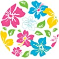 Brewster WPD90254 Wall Pops Island Fusion Pink Dot, Set of 5 Stickers