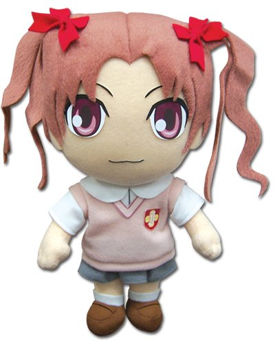 Great Eastern Entertainment a Certain Scientific Railgun - Kuroko 8'' Plush - 1