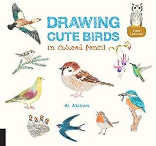 Book Cover: Drawing Cute Birds in Colored Pencil