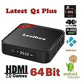 Leelbox ®Q1 Plus Android TV BOX アンドロイド5.1 Kodi 16.0 Amlogic S905 クアットコア cortex-A53 64ビット 1GB/8G HDMI 2.0 up to4K*2K Fire T... ランキングお取り寄せ