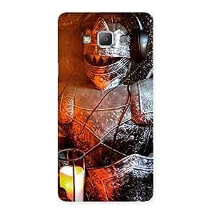 Ajay Enterprises Elite Knight Warrior Multicolor Back Case Cover for Galaxy A7