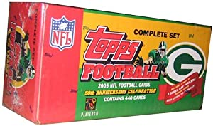 2005 Topps NFL Football Cards 50th Anniversary Celebration Complete Set Green Bay... by Topps