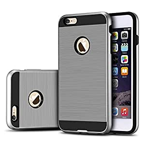 iPhone 6 Plus Case iPhone 6S Plus Case Bumper Defender Hard Dual Layer Thin Armor TPU Interior Silicone Heavy Duty Solid PC Back Shock Absorbing Scratch Resistant Hybrid Dual Layer Slim Cover