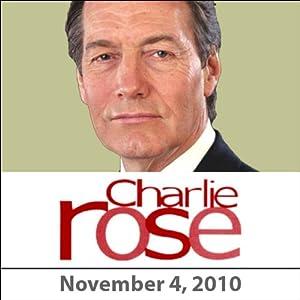 Charlie Rose: Mark Halperin, John Heilemann, and Vittorio Grigolo, November 4, 2010 Radio/TV Program