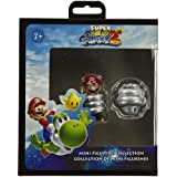 Spring Mario (~1.75 ) & Spring Mushroom (~1.25 ): Super Mario Galaxy 2 Mini-Figurine Collection