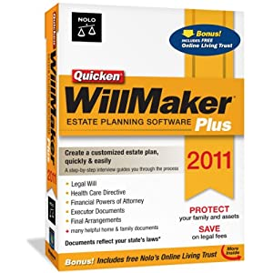 Quicken WillMaker Plus 2011 Best Price Sale