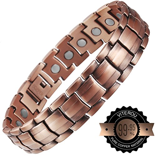 viterou-mens-magnetic-pure-copper-bracelet-with-magnets-pain-relief-for-arthritis3500-gauss
