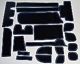 KINMEI(キンメイ) ホンダ 新型ステップワゴン RP型 青 専用設計 インテリア ドアポケット マット ドリンクホルダー 滑り止め ノンスリップ 収納スペース保護 ゴムマットHONDA Step wgnsw-b