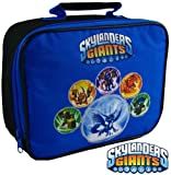 Skylanders Giants Blue Character Rectangle Lunch Bag