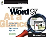 img - for Microsoft Word 97 at a Glance (At a Glance (Microsoft)) book / textbook / text book