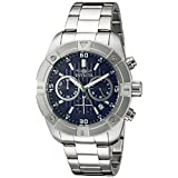 Invicta Men's 21467 Specialty Analog Display Japanese Quartz Silver-Tone Watch