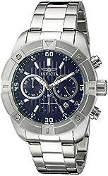 Invicta Men's 21467 Specialty Analog Display Japanese Quartz Silver-Tone Watch