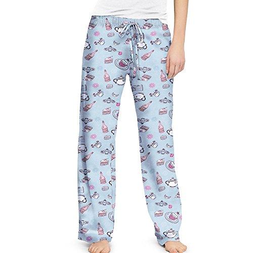 Champion Tea Party Women'S Sleep Pants 26560, Xl, Tea Party