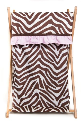 Pam Grace Creations Laundry Hamper, Zara Zebra