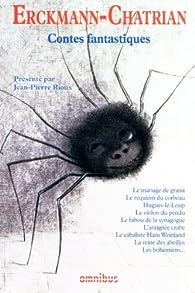 Contes fantastiques par  Erckmann-Chatrian