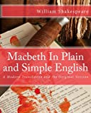 Image of Macbeth In Plain and Simple English: A Modern Translation and the Original Version