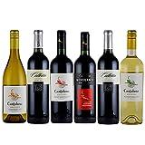 赤白ワインセット 南米産赤白ワイン6本セット チリ アルゼンチン カベルネ・ソーヴィニヨン シャルドネ マルベック 750mlx6本