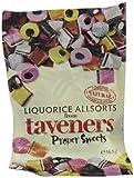 Taveners Liquorice Allsorts 165 g (Pack of 12)