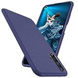 Toppix Case for Huawei Nova 5T / Honor 20, Soft TPU Bumper Flexible [Shock Absorption] [Specialized] Bumper Protective Cover for Huawei Nova 5T / Honor 20 (Blue)