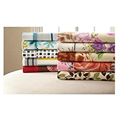 Palazzo 6-Pc Vibrant Prints Sheet Set, Twin, Full/Queen Or King, Assorted Colors