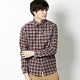 アーノルドパーマー タイムレス(メンズ)(arnold palmer timeless) ツイルキモウチェックシャツ【88モカブラウン/3(L)】