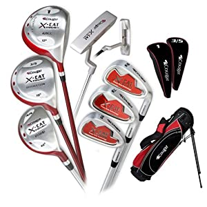Women&#39;s Right Hand Cougar X&#45;Cat Tour III Golf Set