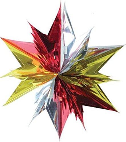 45cm-christmas-multi-colour-foil-3d-star-hanging-decoration-ball-festive-xmas-wall-ceiling-party