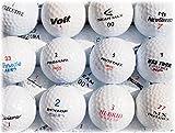 ホワイト ゴルフボール ブランド混合 30球セット【ABランク ロストボール】