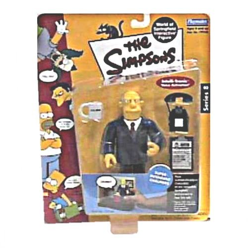 The Simpsons - World of Springfield Interactive Figures - Series 8 - Superintendant Chalmers w/custom accessories - 1