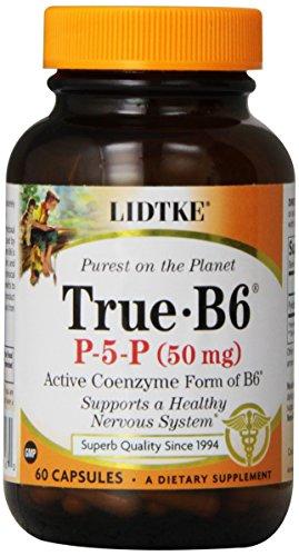 Lidtke Technologies True B6 Capsules, 50 Mg, 60 Count