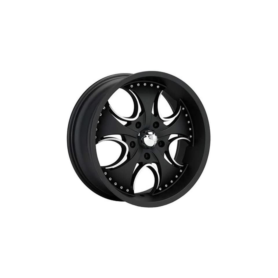 KMC KM755 24x9.5 Black Wheel / Rim 5x4.5 with a 12mm Offset and a 72.60 Hub Bore. Partnumber KM75524912712