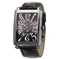 [ミッシェルジョルダン]michel Jurdain 腕時計 スポーツ ダイヤモンド レザー オールブラック メンズ SG3000-2 メンズ