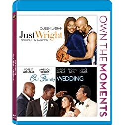 Our Family Wedding / Just Wright [Blu-ray]