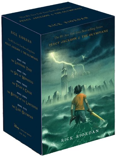 Cover of Percy Jackson and the Olympians Hardcover Boxed Set (Percy Jackson & the Olympians)