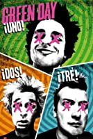 Green Day : Uno! Dos! Tré! Poster Grand Format 61 x 91.5 cm