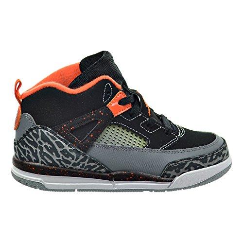 Jordan Spizike BT Toddler's Shoes Black/Electric Orange/Cool Grey/Wolf Grey 317701-080 (6 M US)
