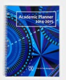 2014-2015 Academic Planner: A Tool for Time Management (Blue Kaleidoscope)