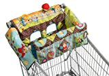 Infantino Shop and Play Shopping Cart Cover, Farm Friends