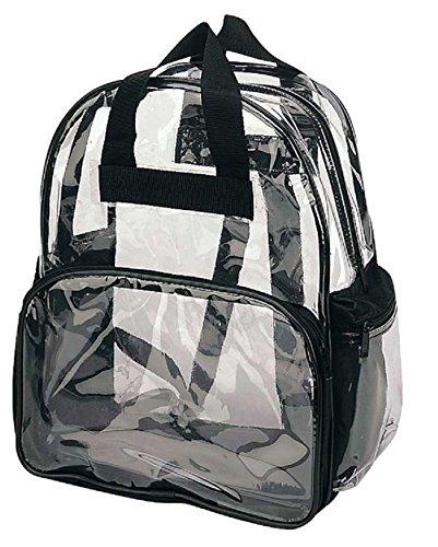 Travel-Bag-Clear-Unisex-Transparent-School-Security-Backpack-Book-Bag-Plastic-FREE-RETURN