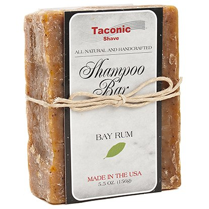 Taconic Shave Bay Rum Shampoo Bar - All Natural / Handcrafted - 5.5 oz.