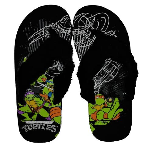 Turtles TMNT Turtle Power Shredder Beach Sandals Flip Flops Shoes