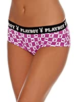 Playboy Pack x 2 Coulottes Sexy Bunny Malva M