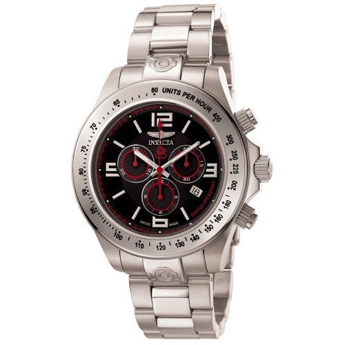 Invicta Men's 4218 Speedway Collection Grand Chronograph Black Dial Watch