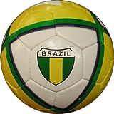 Indpro Unisex Team Football 5 Yellow Green