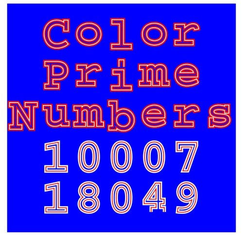 Color Prime Numbers: 10007-18049
